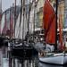 Nyhavn fishing boats by halifaxlight