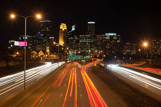 Minneapolis Skyline from Franklin Ave Bridge