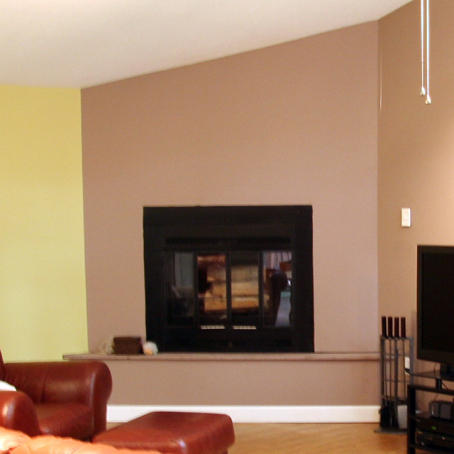 Fireplace Renovation Before And After Eric Asp