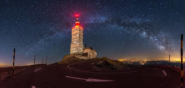 Au sommet du géant de Provence