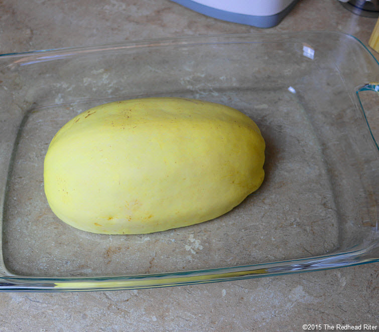 Cook Spaghetti Squash in the Oven  (2)