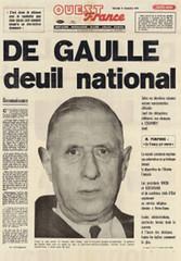OF De gaulle
