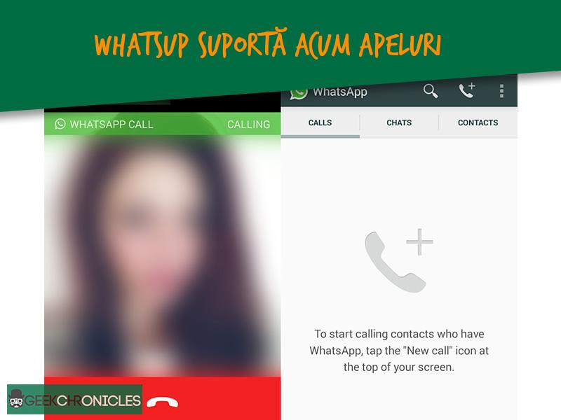 apeluri in WhatsApp