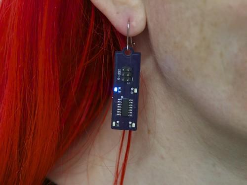 Blinky AVR Earring