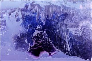 Arctic cave, creation