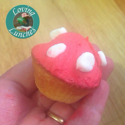 Loving these sweet little toadstool #cupcake s I made for our gymnastics fundraiser… #funwithfood #funfood