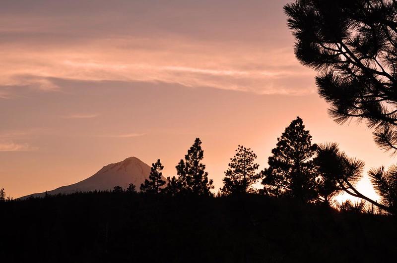 Mt. Hood at sunset