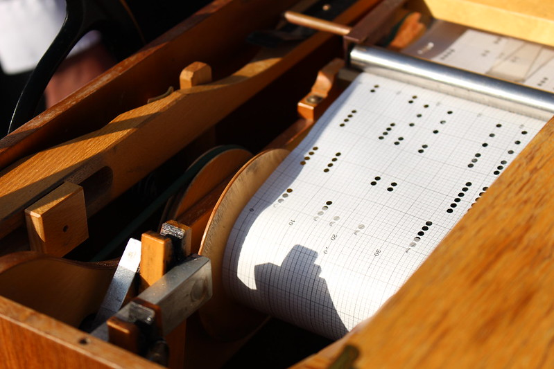 Punch Card Powered Organ