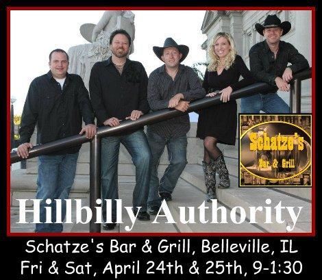 Hillbilly Authority 4-24, 4-25-15