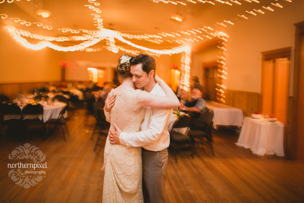 Wedding Dance at the Round Lake Hall, near Smithers BC
