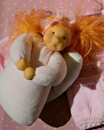 "Angel Tia 8"" by MariAS Nature Toys #LOVEFORALEX"