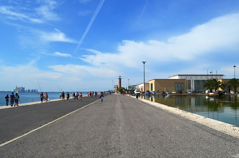 Promenade, Belém, Lisbon, Portugal