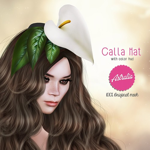 ASTRALIA : Calla Hat vendor