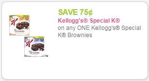 Special K Brownies at Walgreens