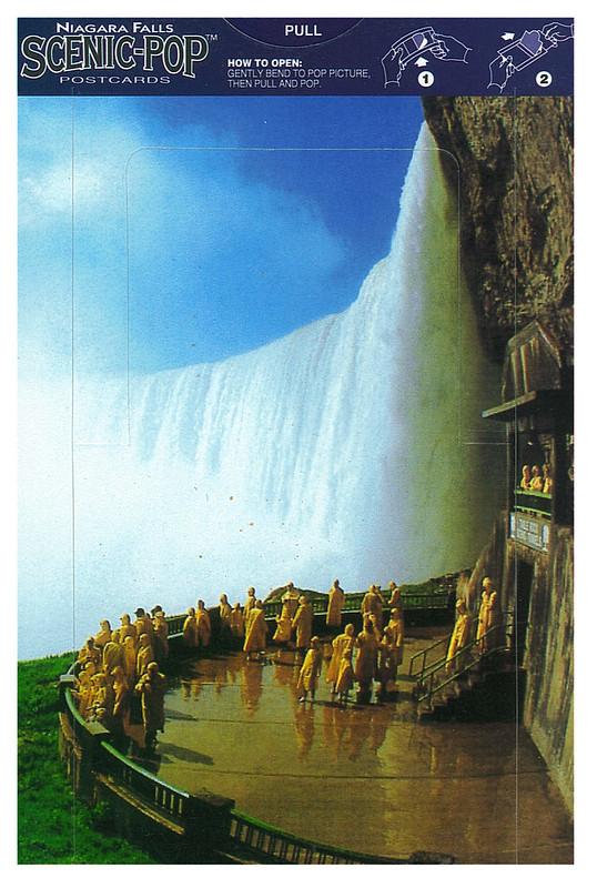 Canada - Niagara Falls - Scenic-pop - under fall