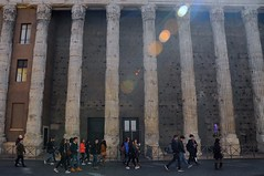 Temple of Hadrian ( Near Panthéon ), Rome