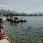 Sunny Day at Lake Lucerne - Luzern, Switzerland