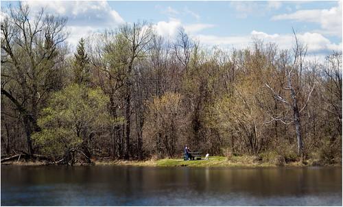 spring mississippiriver riversidepark carletonplace