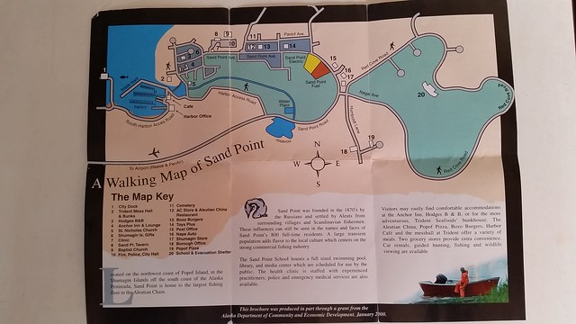 Sand Point map