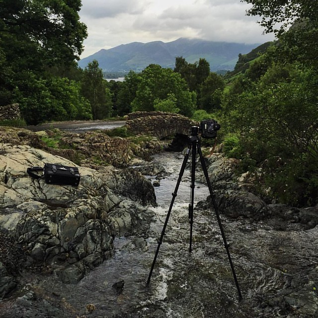 The beauty of the Lake District has been captured by writers, painters and photographers for generations. Standing in a stream at Ashness Bridge in the wee hours of the morning you can see why.