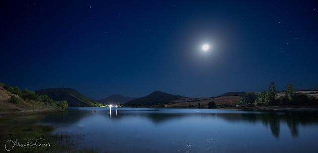 La Luna y su Espejo (Pantano de Alloz)