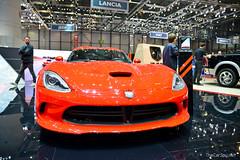 muscle car(0.0), race car(1.0), automobile(1.0), exhibition(1.0), vehicle(1.0), performance car(1.0), automotive design(1.0), auto show(1.0), land vehicle(1.0), srt viper(1.0), supercar(1.0), sports car(1.0),