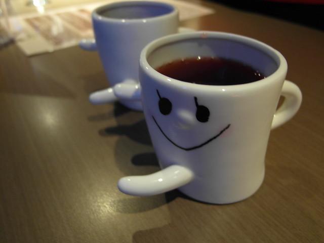 可愛的微笑杯@樂樂小時光有機食材餐廳(附有親子遊戲區)