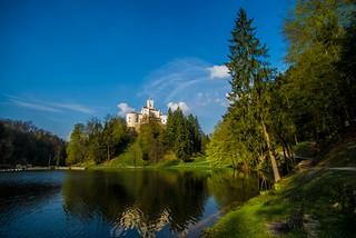 lake & castle - Trakošćan (05)
