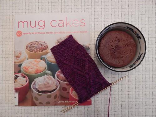 Mug cake and wip