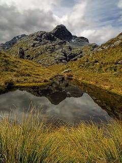 tarn, Routeburn Track, NZ