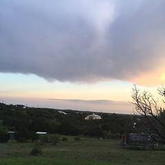 Last night's sunset. #texas #texassunset #drippingsprings