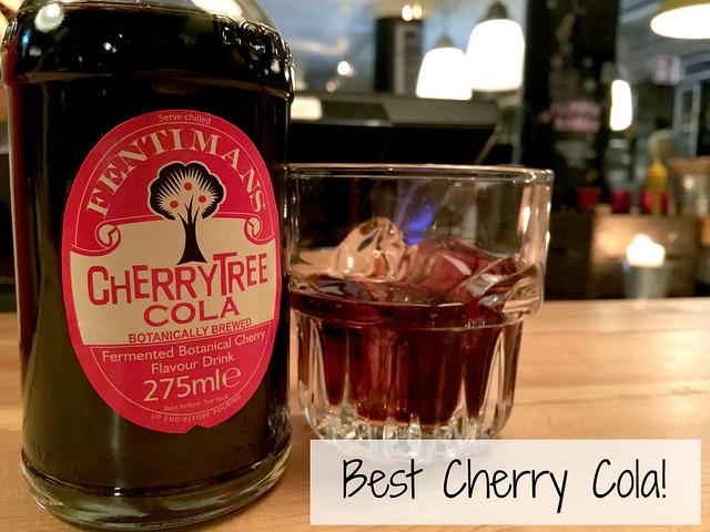 cherrytree cola Flippin Burgers Tukholma