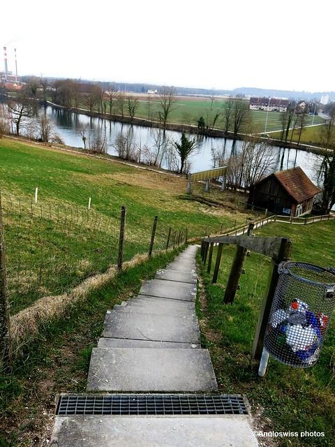 Stairs River Aar