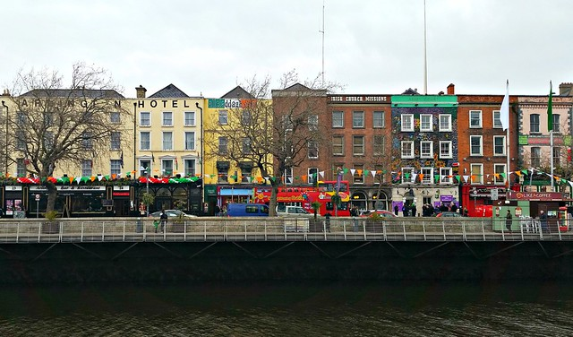 Dublin during St. Patrick's Fest