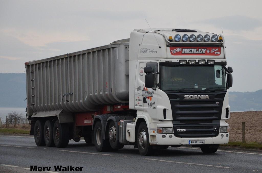 Walter Ltd walter reilly sons ltd scania r500 topline 09 dl 374 a photo on