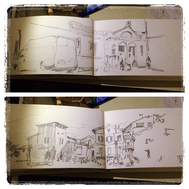 #urbansketch #pamplona #pencil #creanavarra