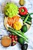 Spring vegetable and breakfast