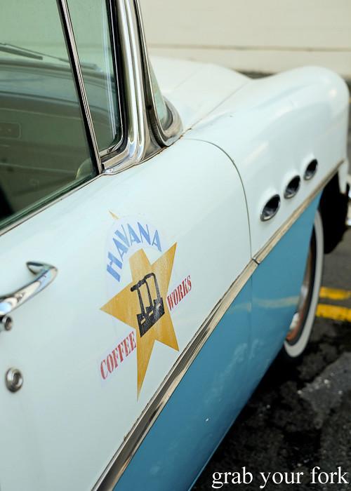 1956 Buick at Havana Coffee Works, Wellington