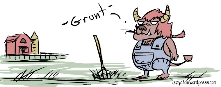 grunt farmer redneck monster