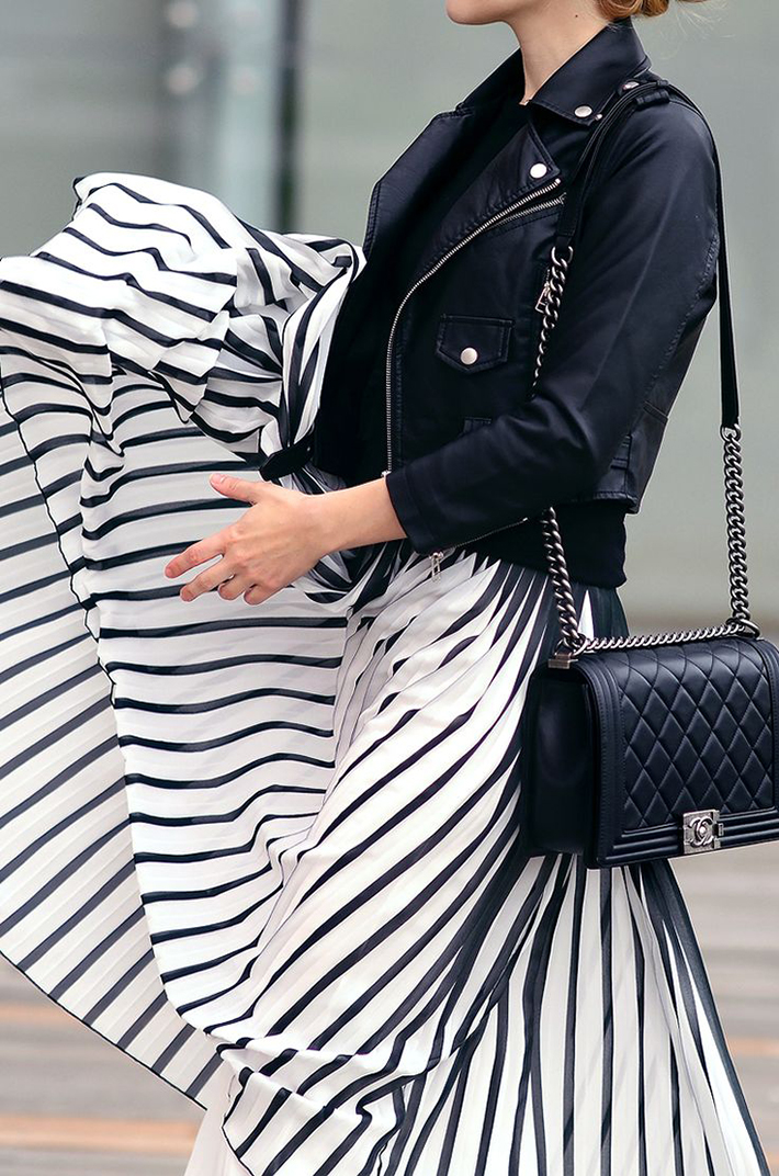 Stripes Navy Style Inspiration Streetstyle13