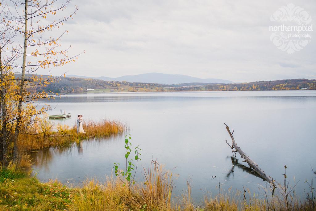 Round Lake Wedding Prince George British Columbia Photographers