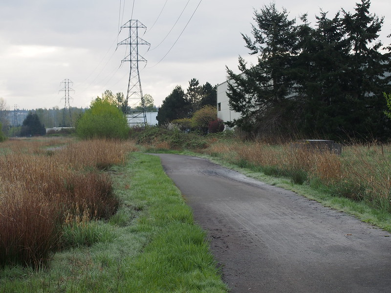 Kent Puget Power Trail: The official Green River Trail detour