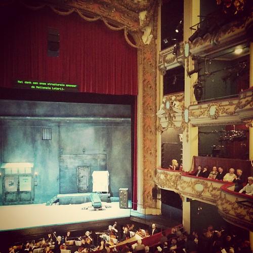 Eerste en vermoedelijk ook laatste keer. #opera #bucketlist #dongiovanni