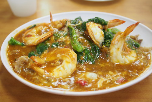 big prawn hor fun, Kok Sen Restaurant (50 Keong Saik Road, Singapore)