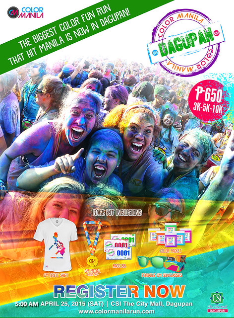 COLOR MANILA RUN - Dagupan