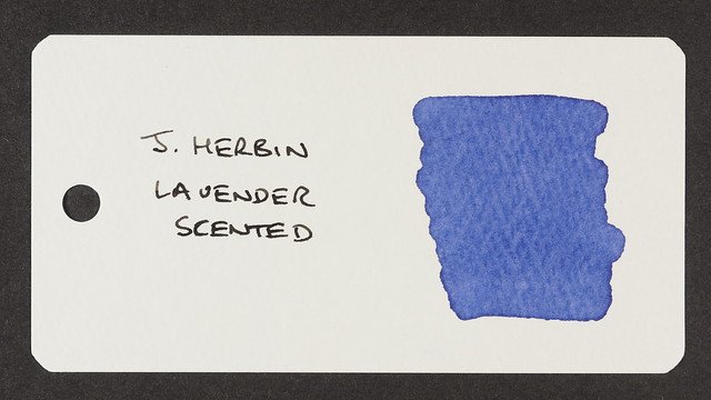 J. Herbin Lavender Scented - Word Card