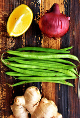 sayur green beans
