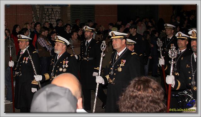 18 Semana Santa en Málaga. Cristo de Mena y Legionarios