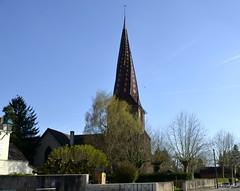 Clocher Tors XIVè siècle - Mervans - Saône-et-Loire en région Bourgogne - Photo of Serley