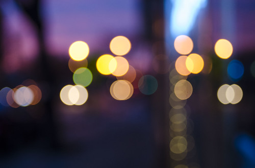 nightphotography pink sunset night neon purple bokeh davissquare